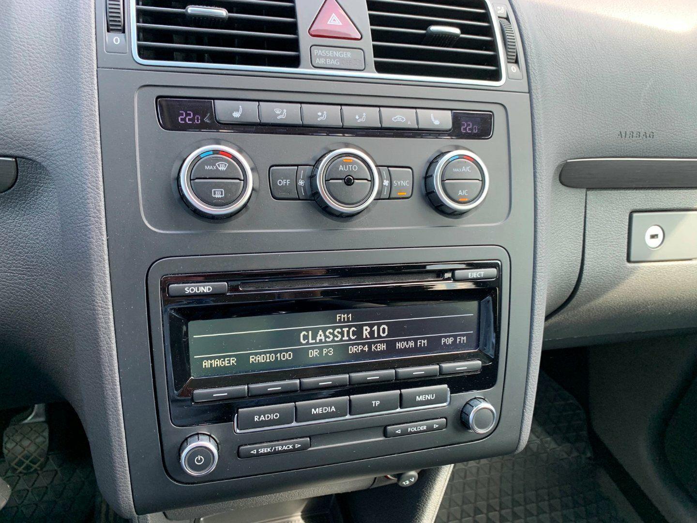 VW Touran 1,4 TSi 140 Comfortline - billede 11