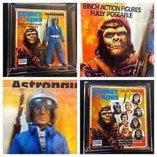 70s ASTRONAUT on CUSTOM PALITOY BRADGATE vtg MOC Planet of Apes Mego Soldier Ape