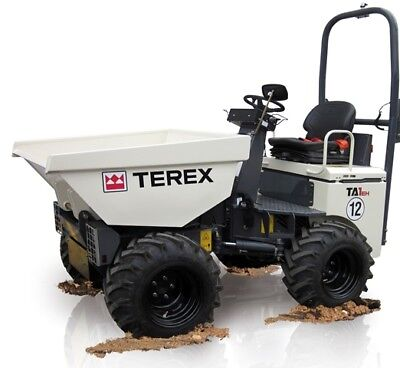 Terex Site Dumper Workshop Manual Pdf Covers Many Models Sent As A 'download' Tractor Manuals & Publications