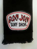 Ron Jon Fingertip Towel Black Free Ship Surf Surfer Surfing Ocean