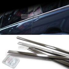 Stainless Steel Chrome Window Under Trim Molding 4Pcs For KIA 2010-14 Sorento R