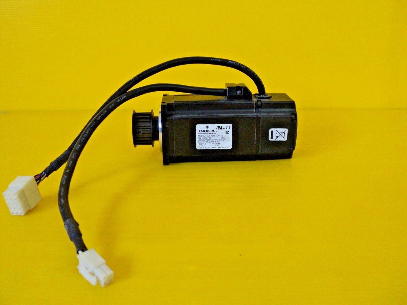 Emerson Control Techniques XVM-6011-TONS-0000 Servo Motors, XV Series