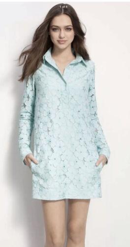 Diana Von Furstenberg  Woman Dress SZ 6 Blue Lace