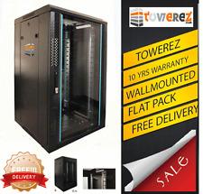 Armario de datos PREBUILT 15U rack de servidores 19 INCH 600 (W) x 650 (D) x 800 (h) NUEVO