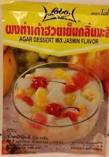 LOBO AGAR  GELATIN DESSERT MIX JASMIN FLAVOR QUICK AND EASY TO MIX ASIAN