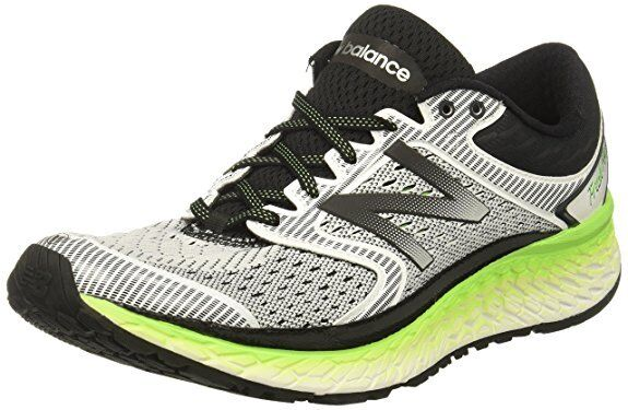 Men's New Balance M1080WB7 Running Shoes - Silver Lime - GREAT BUY! FREE SHIP!