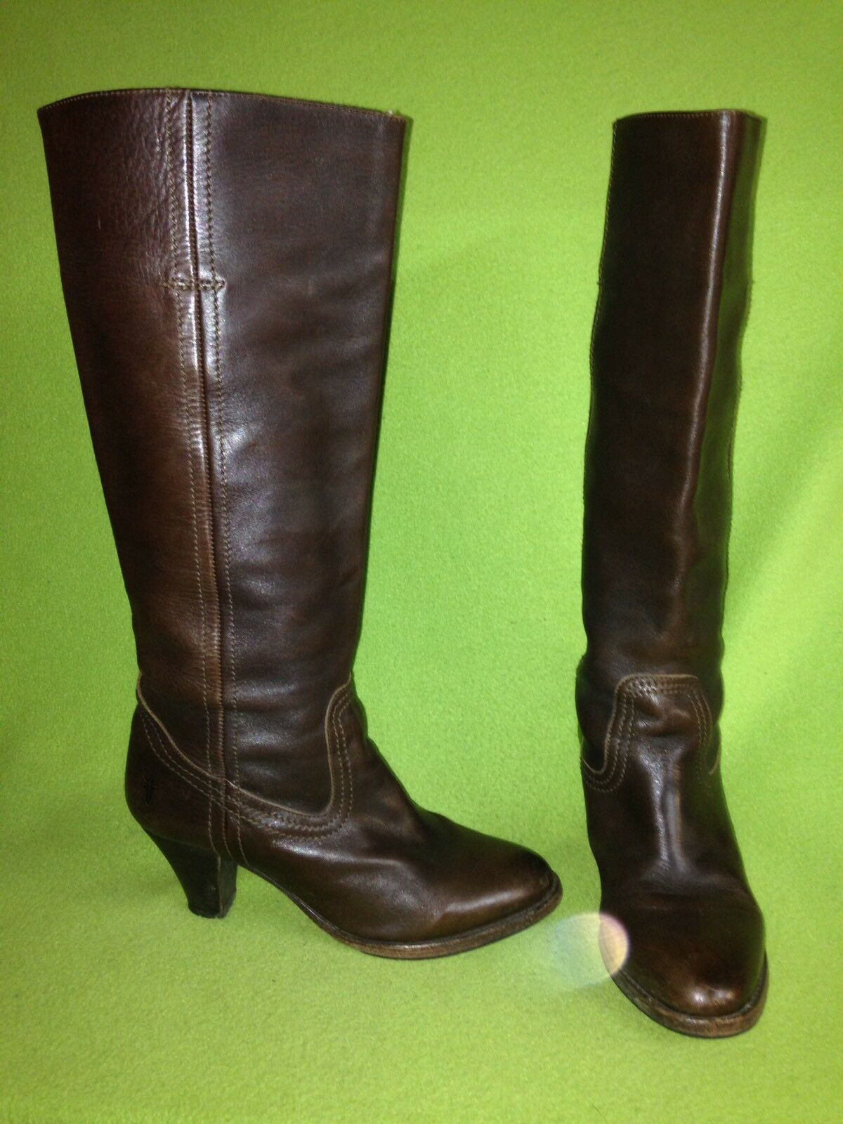 Man/Woman Brown Frye Knee-High Boots 7 B Attractive and durable Lush design German Outlets