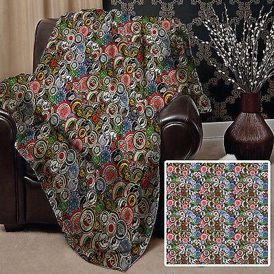 Alert Northern Soul Badges Design Fleece Blanket Throw Okeh Wigan Pier Keep The Faith Afghans & Throw Blankets Home & Garden