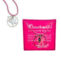 American Girl My Ag Charm Keeper Necklace For Dolls Pink Retired Jewelry
