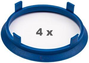 Espita Anillos 60.1-64.1 Espaciador De Rueda Conjunto de 4 Cubo de la rueda de aleación centrados en