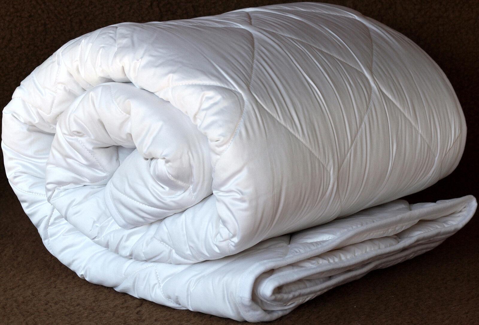 Wool Duvet Comforter Quilt 4 Seasons Winter Summer Pure Lambswool
