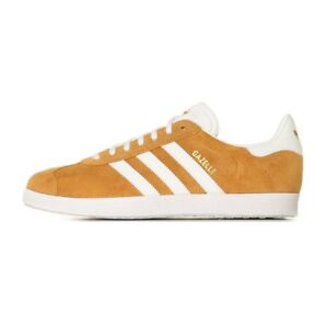 on sale 4975c ee6a5 Image is loading Adidas-Gazelle-Mesa-White