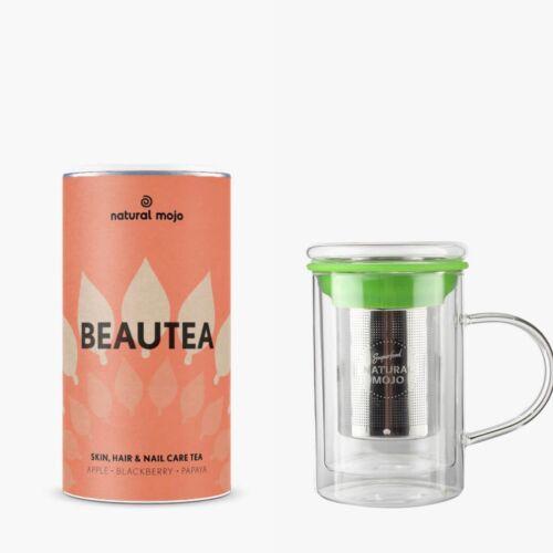 Set di tè infus. Natural Mojo beautea