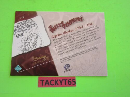 S 2003 DISNEY TREASURES SERIES 3 SILLY SYMPHONY SINGLE CARD