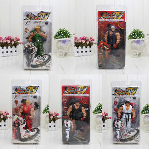Street-Fighter-IV-Survival-Mode-Ryu-Guile-Ken-Action-Figure-Collection-Model-Toy