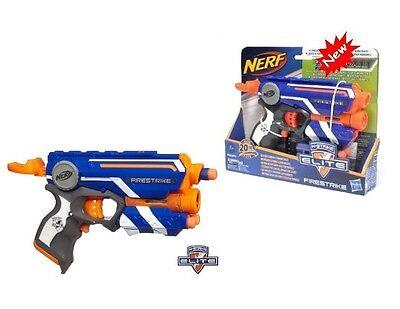 New Authentic Hasbro NERF FIRESTRIKE 3 Bullets Launch 20m Soft Dart Gun
