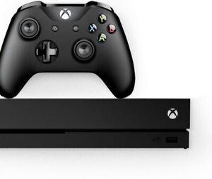 NEW-Microsoft-Black-Xbox-One-Console-X-1TB
