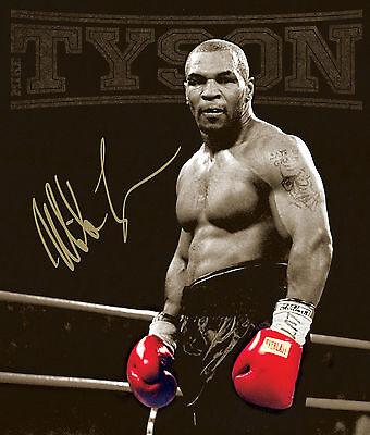 MIKE TYSON BOXING LEGEND 1 NEW ART PRINT POSTER   # 29 A3//A4 Size