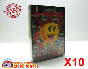 10x-SEGA-GENESIS-BOX-CLEAR-PROTECTIVE-GAME-BOX-SLEEVE-CASE-ARCHIVAL-QUALITY