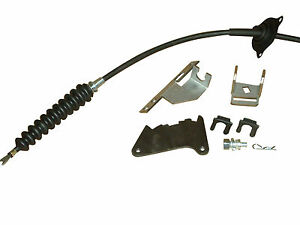 CORRECT SHIFTER CABLE ASSEMBLY; 68-72 CAMARO; 68-72 CHEVELLE WITH CONSOLE A//T