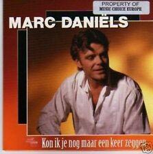 (898N) Marc Daniels, Kon Ik Je Nog maar Een...- 1996 CD
