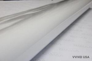 Vvivid XPO Gloss White Vinyl Car-Wrap Film 50ft x 5ft Roll