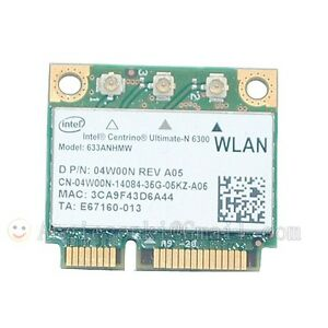Details about DELL Latitude E6520 E6510 E6420 Intel 6300ABGN wireless WiFi  Adapter WLAN Card