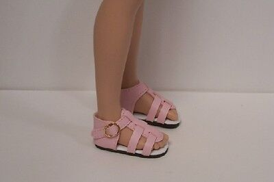 Dark GREEN Strappy Sandals Doll Shoes For Hopscotch Hill Collection DEBs DK
