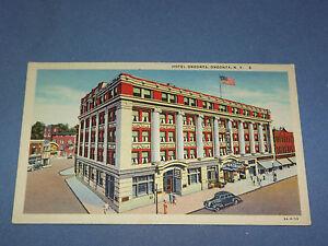 VINTAGE-HOTEL-ONEONTA-NEW-YORK-POSTCARD