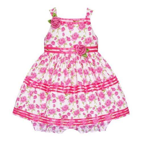 Traum Satin-Petticoat Kleid 74,80,86,92,98,104 Höschen~Baby~Mädchenkleid Gr