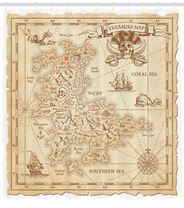 Details about Antique Treasure Map Sailing Pirate Ship Retro Style on authentic treasure chests, bahamas 1500s maps, decorating with maps, authentic games, authentic diamonds, civil war camp location maps, printable pirate maps,