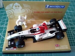 MINICHAMPS-Michelin-code-Jenson-BUTTON-BAR-HONDA-006-MICHELIN-BOX-2004