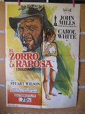 A849 EL ZORRO Y LA RAPOSA