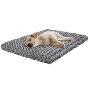 42-034-Deluxe-Faux-Fur-Cat-Dog-Plush-Pet-Bed-Machine-Washable-Non-Slip-Bottom-Home