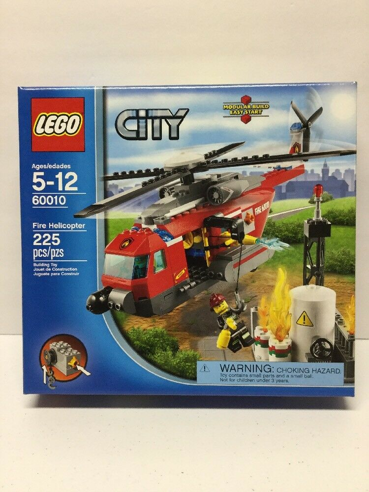 LEGO 60010 CITY FIRE HELICOPTER - Brand New Sealed RetiROT & Hard To Find