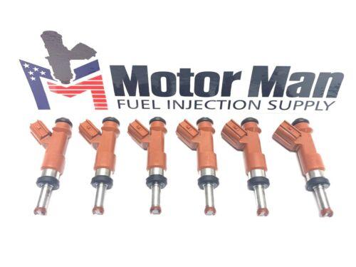 Motor Man Denso 23250-0P040 Matched Set OEM Fuel Injectors Toyota Lexus 3.5L