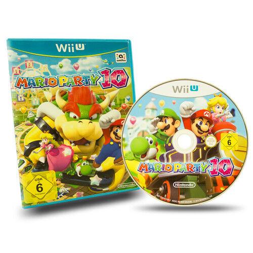 Nintendo Wii U Mario Party 10 4192 Ebay