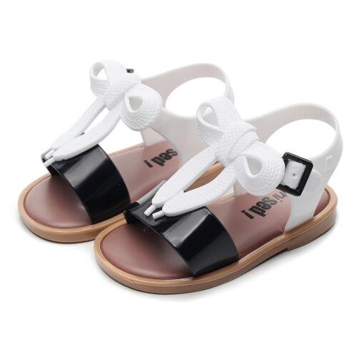 Kinder Mädchen Prinzessin Sandalen PVC Jelly Sandaletten Freizeit Sommerschuhe