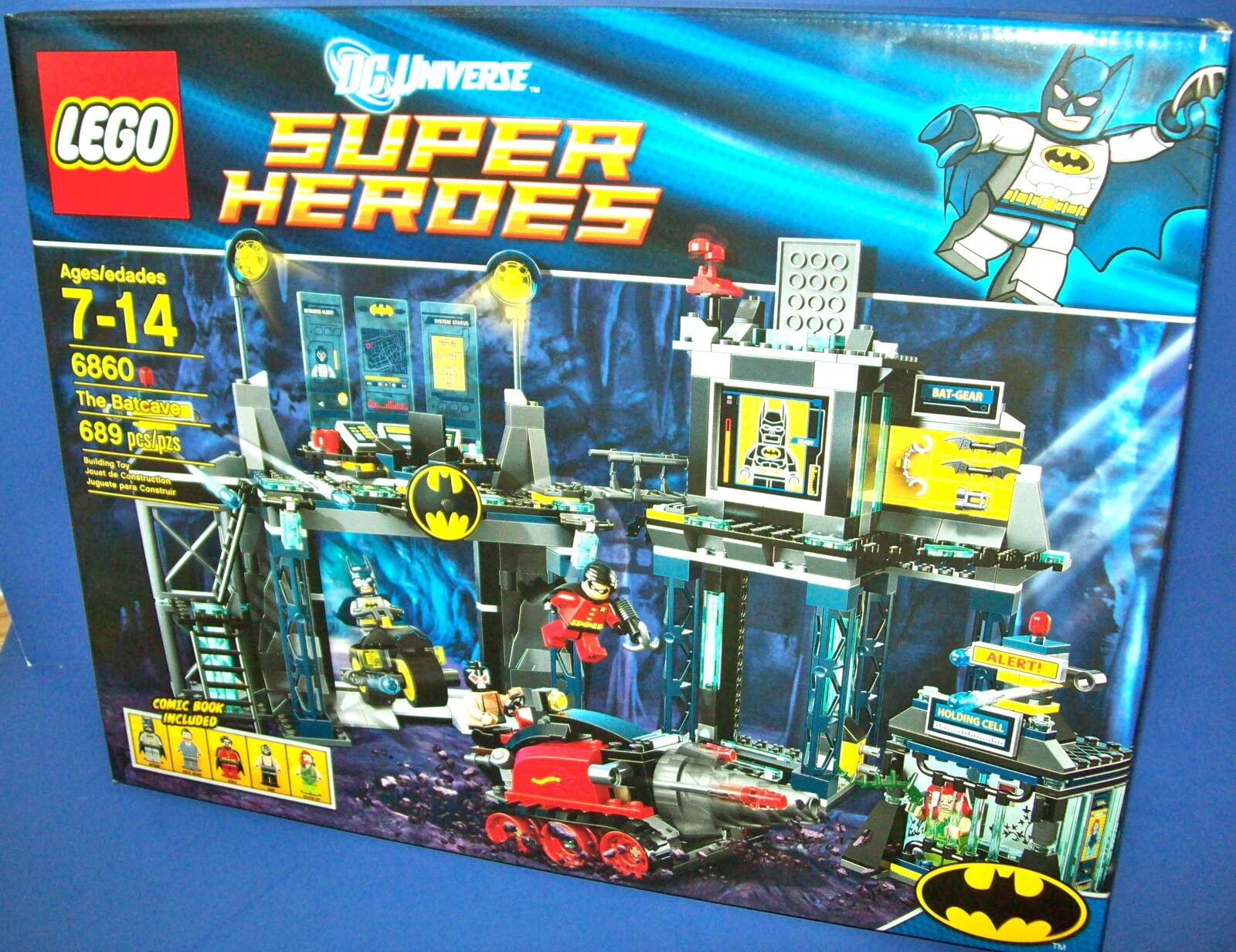 LEGO 6860 Super Heroes  - THE BATCAVE  DC Universe BATMAN sold out NIB batman