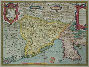 Fori-Iulii-Accurata-Descriptio-Ortelius-1579-Venetien-Friaul-Italien-Italy