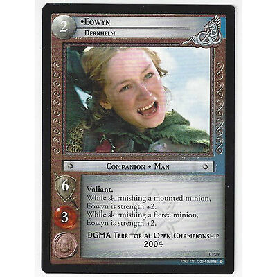 CCG 2 Lord of the Rings / Hobbit Promo Eowyn, Dernhelm 0P29