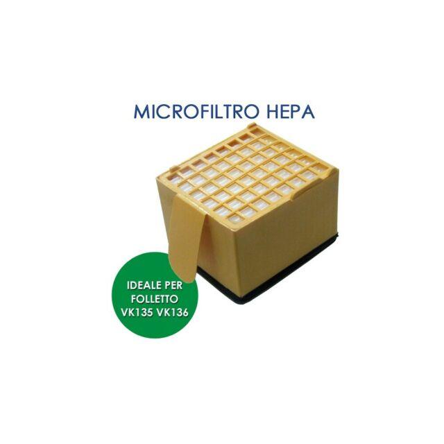 Filtro Hepa Vk135-136 Compatibile ES FFI007B Filtro Hepa Vk135-6 Compatibile