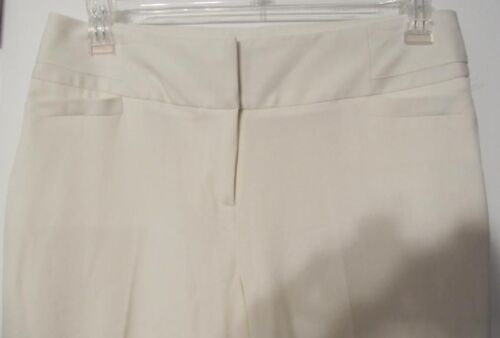 Luxe Nwots Sz Dress Pants Ivory Fabulous 198 Retail 6 Atelier Stretch nFqx8wY5TZ