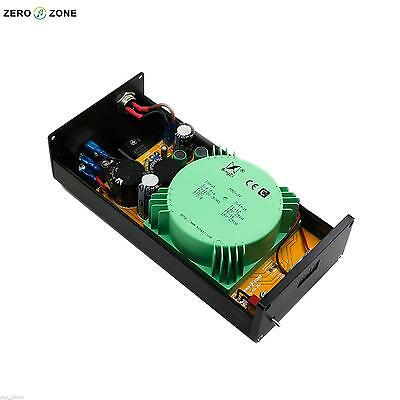12V @1A 2 way HIFI Linear Power supply USB //amp//DAC external LPS 12V
