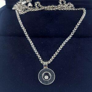 4e75b731962f9 Chopard Happy Diamonds Icons 18K White Gold Pendant Necklace w ...