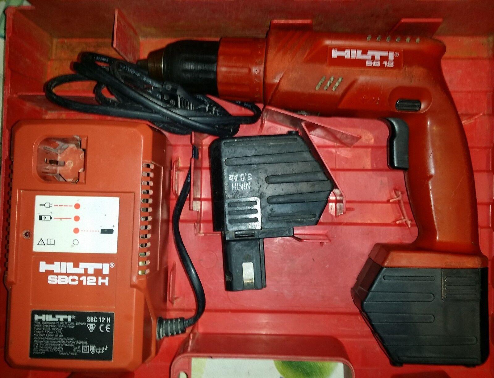 Hilti Akkuschrauber SB 12 oder SF120-A  Garantie SB 12 A SF 120 A