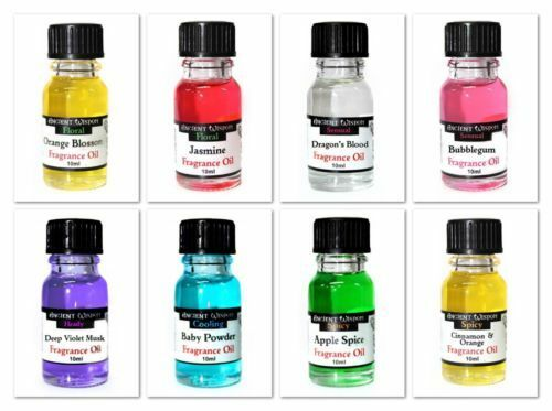 Variety Pack of 6 Mixed Home Fragrance Scented Burning Oils for Oil Burners