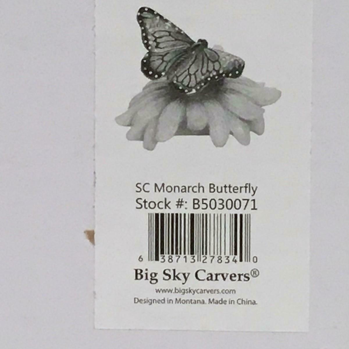 Big Sky Carvers Stonecast Yellow Quinceanera Butterfly Figurine Retired