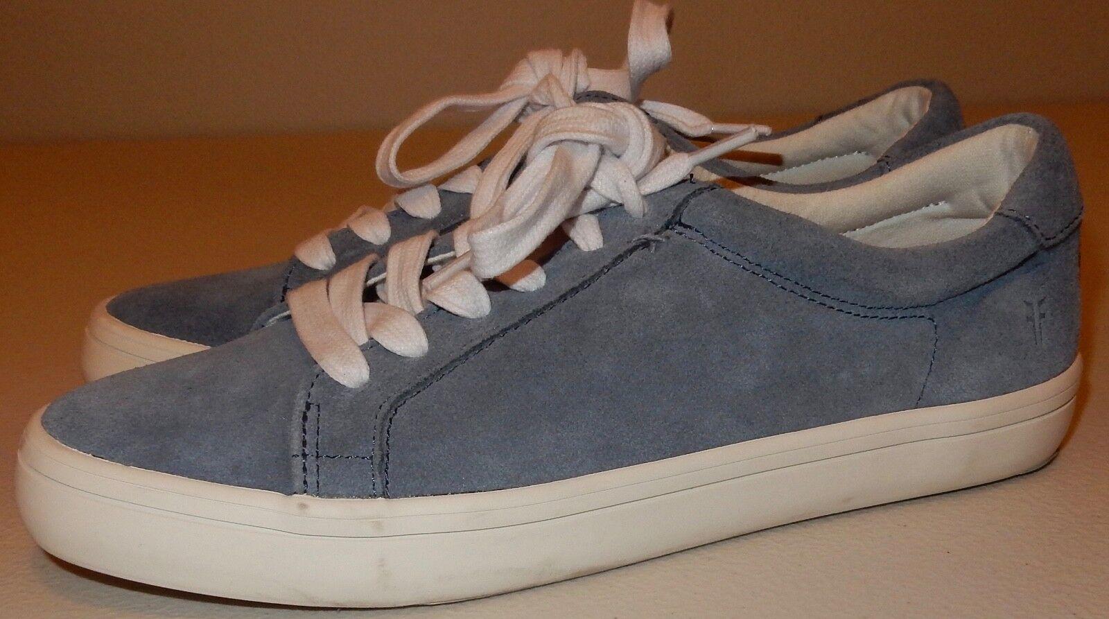 FRYE Blau Suede Damenschuhe Sneakers Schuhes Größe 7.5