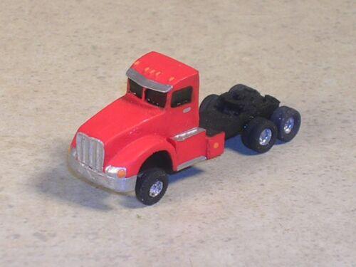 N Scale 2010 Red PeterBuilt Semi Tractor